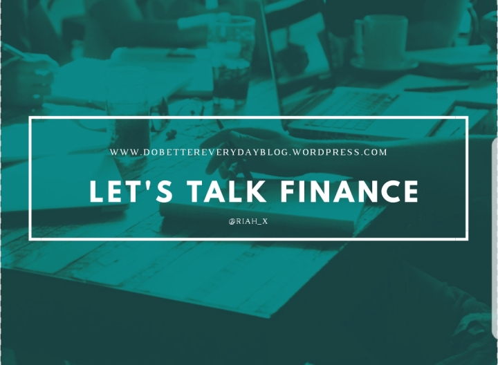 Let's talk Finance! 💰
